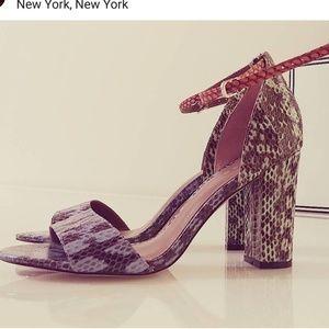 Reiss snake limited edition crocodile heels